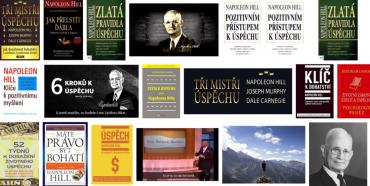 Hillovy knihy o bohatství a úspěchu. Zdroj: Google.cz, vyhledávání obrázků.