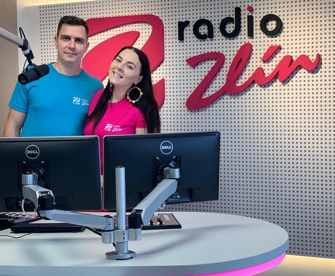 Radio Zlín - studio a tým