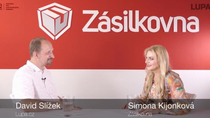 Simona Kijonková (Zásilkovna): Na doručování zásilek jsme ...