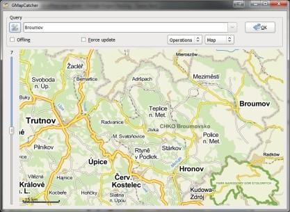 gmapcatcher stáhne mapy