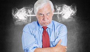 Syndrom mrzutého muže a další splašené emoce