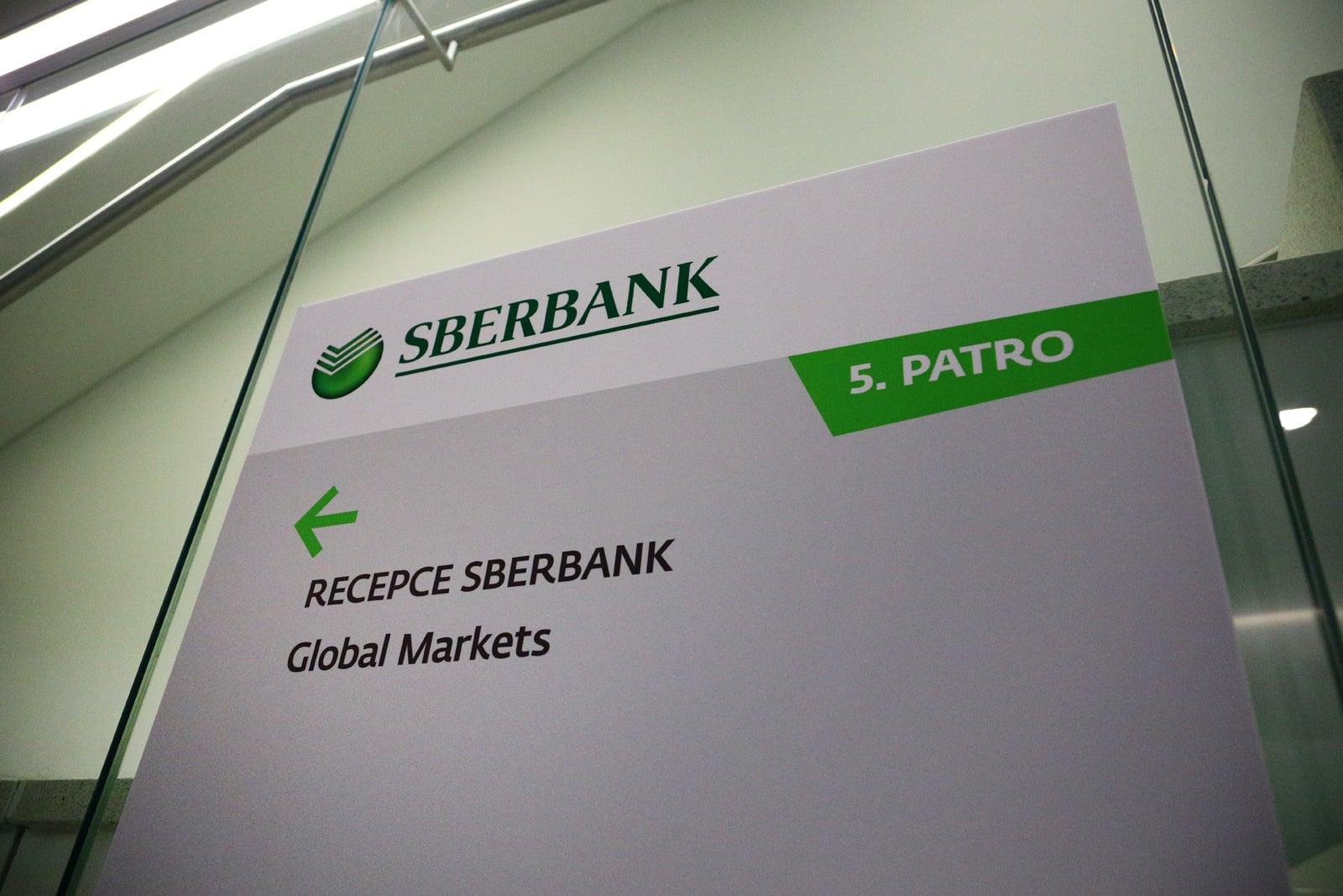 Na návštěvě ve Sberbank
