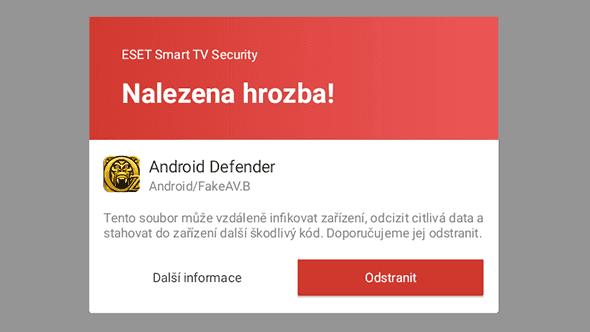 [aktualita] Už je to tu, ESET vydává antivir pro chytré televize s Androidem