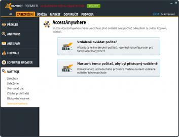 S funkcí AccessAnywhere můžete ovládat svůj počítač odkudkoliv