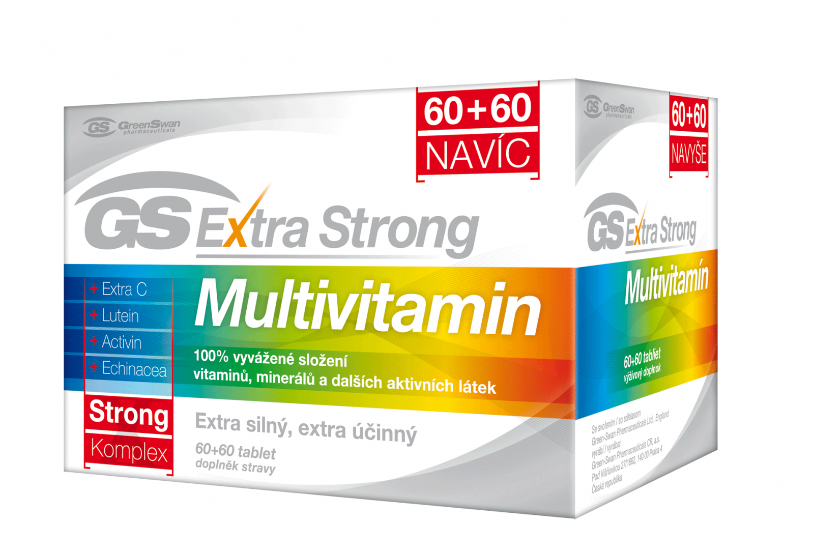 GS Extra Strong Multivitamin tbl. 60+60