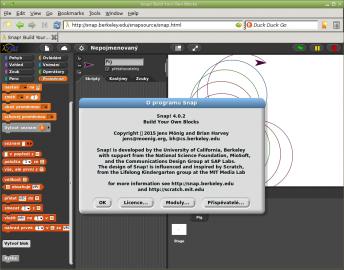 Snap! – důstojný nástupce programovacího jazyka Scratch
