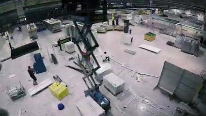 Vitalia.cz: Video: rekonstrukce hypermarketu za 3 týdny