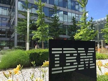 IBM v Praze na Chodově.