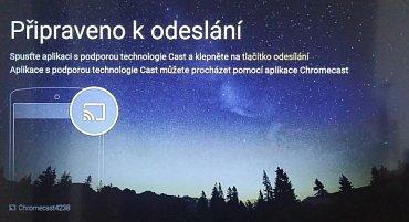 Propojení Google Chromecast, televizoru Philips 48PFK6300 a PC.