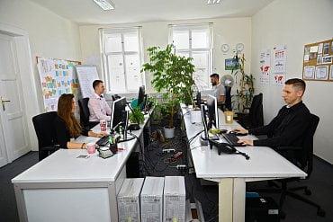 Kancelář kompetenčního centra – Flexcube.