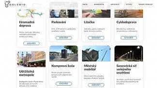 Lupa.cz: Parkoví i pohyb kol. Praha spustila Datovou platformu