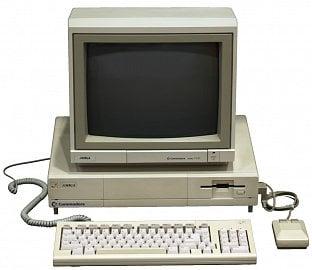 Amiga 1000 - první vlašťovka.