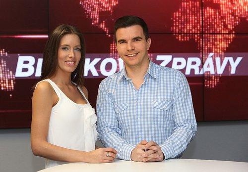 David Vaníček je spolu s Barborou Horákovou tváří Bleskových zpráv