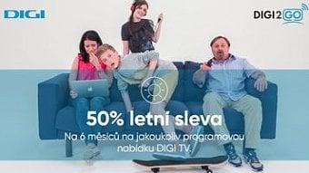 DigiZone.cz: Práznidny u Digi TV. Je tu velká sleva