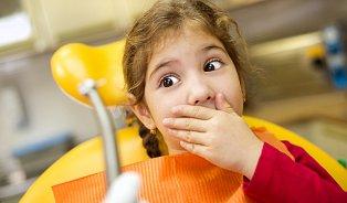 Omléčných zubech: Dítě není tvor vhodný kzubnímu ošetření