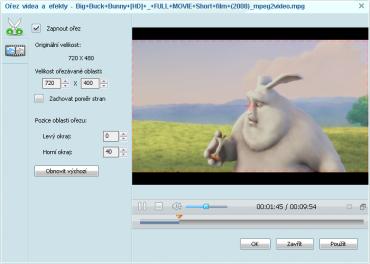 Možnost uložit si zvukovou stopu z videa na YouTube, Vimeu.