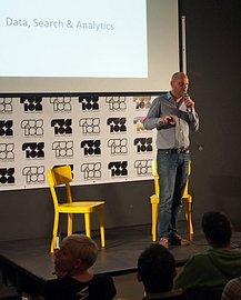 Cédric Maloux na listopadovém pražském StartupCampu