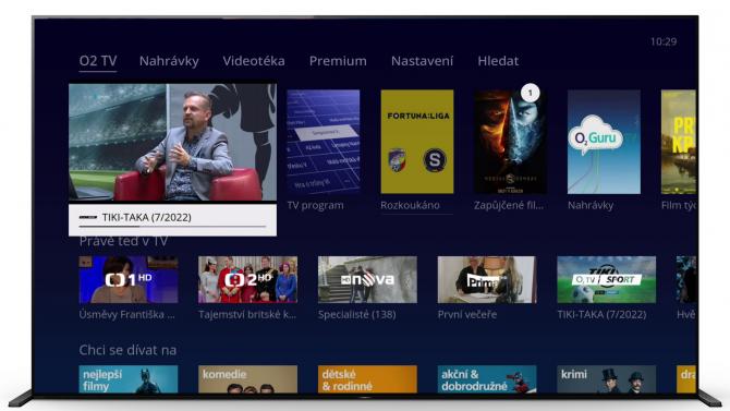 O2 TV míří do televizorů se systémem Android TV