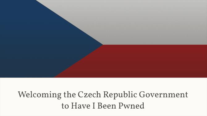 [aktualita] Česko získalo přístup k databázi úniků dat Have I Been Pwned