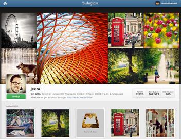 Nejsledovanější česko-slovenský účet na Instagramu