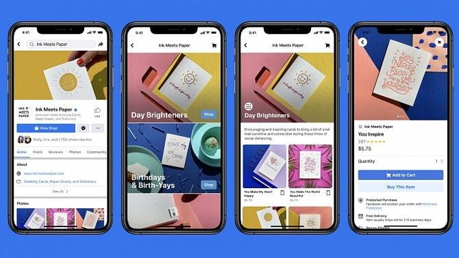 [aktualita] Na Facebooku se bude dát i nakupovat, firma spouští Facebook Shops a Instagram Shop