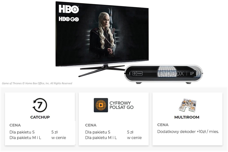 Programová nabídka Cyfrowy Polsat – IPTV distribuce