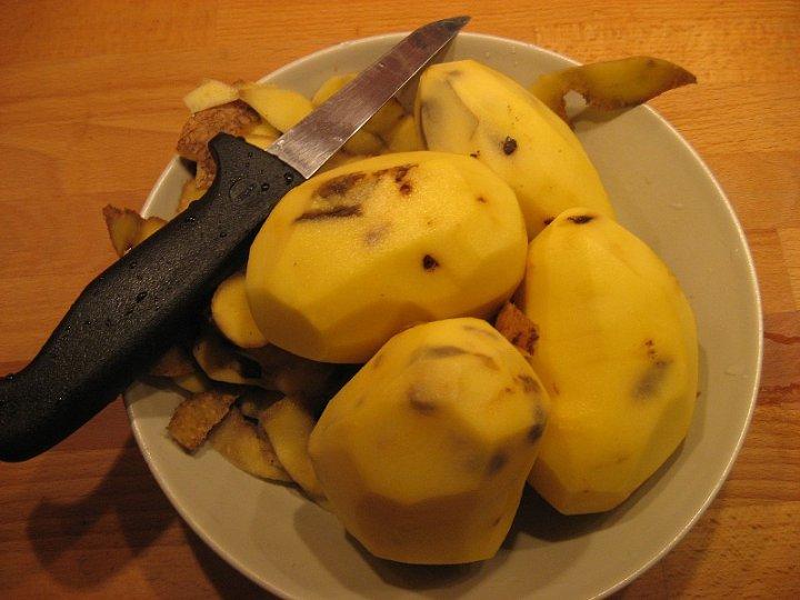 Vady brambor