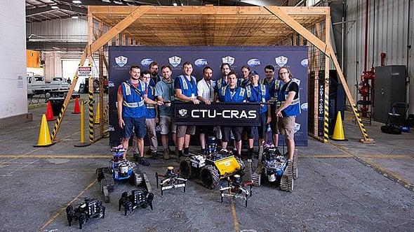 [článek] Martin Pecka, Karel Zimmermann (ČVUT): V soutěži DARPA jsme uspěli, protože jsme nebyli líní trénovat