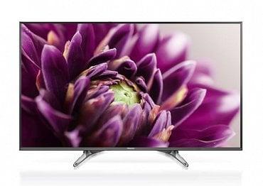 Vnější design televizoru je uměřeně elegantní a i podstavec v této poloze má něco do sebe.
