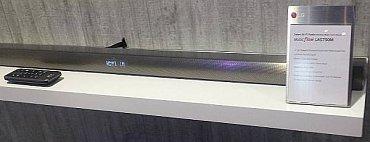 Zvuková lišta LG LAS750M je vybavena technologií Music Flow zajišťující automatické přehrávání hudby z mobilních zařízení. Stačí ho jen přiblížit! LG tak eliminuje nutnost zabudování NF, které navíc ne vždy funguje.