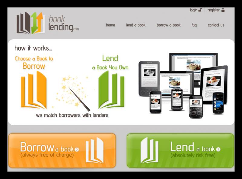 Book Lending propojuje zájemce o půjčení knihy s jejím vlastníkem
