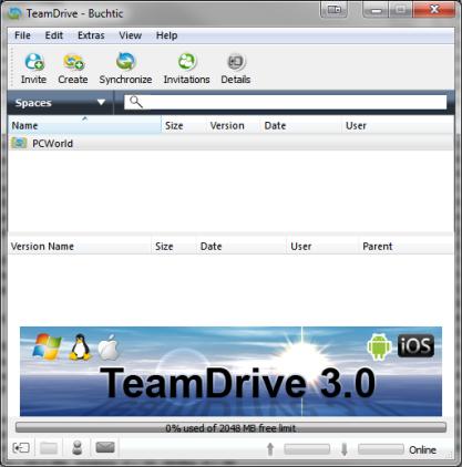 TeamDrive vám usnadní spolupráci na projektech