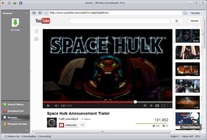 Kastor All Video Downloader zvládne stáhnout video nejen z YouTube