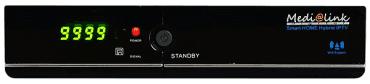 Medi@link Smart Home ML 1200S nabídne satelitní příjem i příjem televizních kanálů přes internetový protokol.