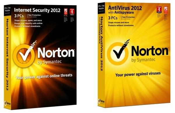 Norton Internet Security 2012 a AntiVirus 2012