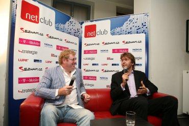 NetClub s Milanem Fridrichem
