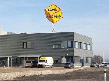 Logistické cetrum Geis v Bravanticích na Novojičínku. (15. 1. 2020)