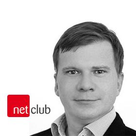 Logo NetClub s Vladimírem Piskáčkem
