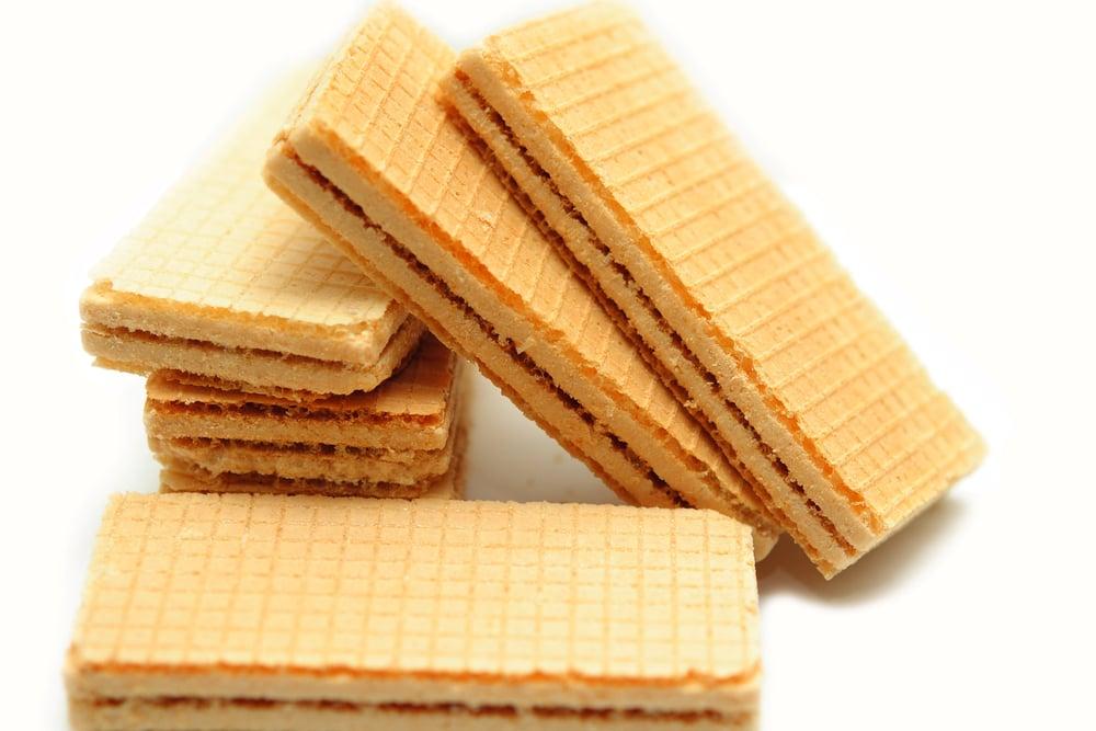 Test soli v sušenkách a oplatkách