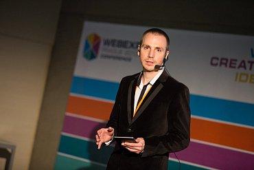 Václav Stoupa zahajuje WebExpo 2013