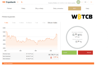 Nyní máme možnost nakupovat a prodávat bitcoiny.