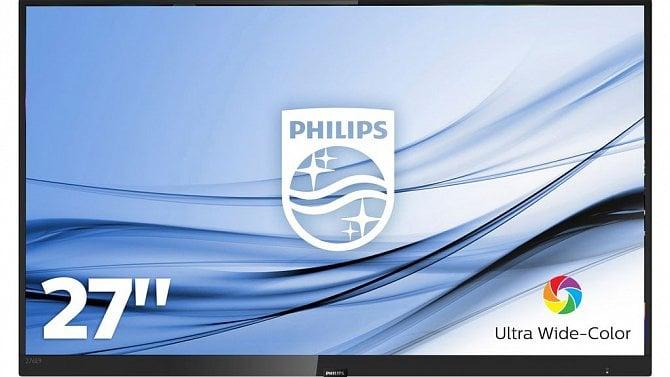 [aktualita] Philips uvádí novinku v domácí řadě monitorů E9, model 278E9 se zakřivenou obrazovkou