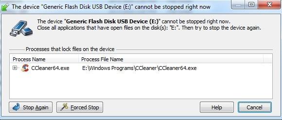 USB Safely Remove - problém s odebráním hardwaru