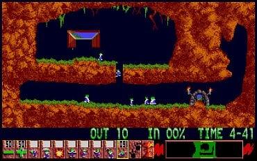 Lemmings - Atari ST.