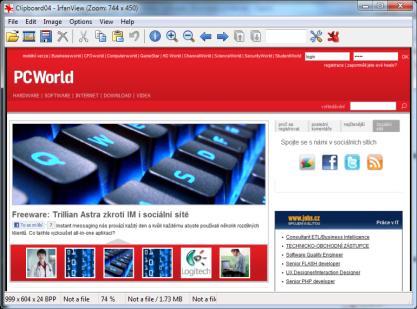 IRfanView je léty osvědčený prohlížeč a editor nejen obrázků