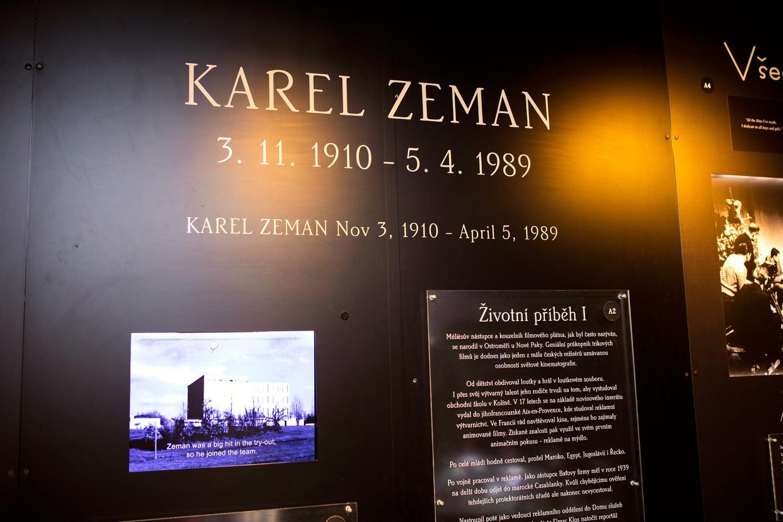 Muzeum Karla Zemana na Malé straně v Praze