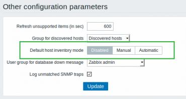 Zabbix 3.0 general other