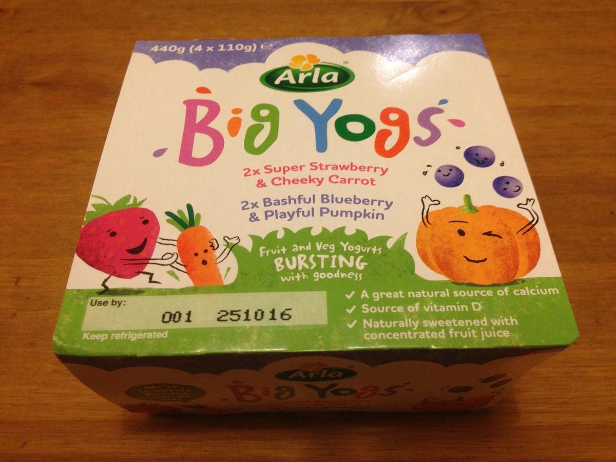 Zeleninové jogurty Arla