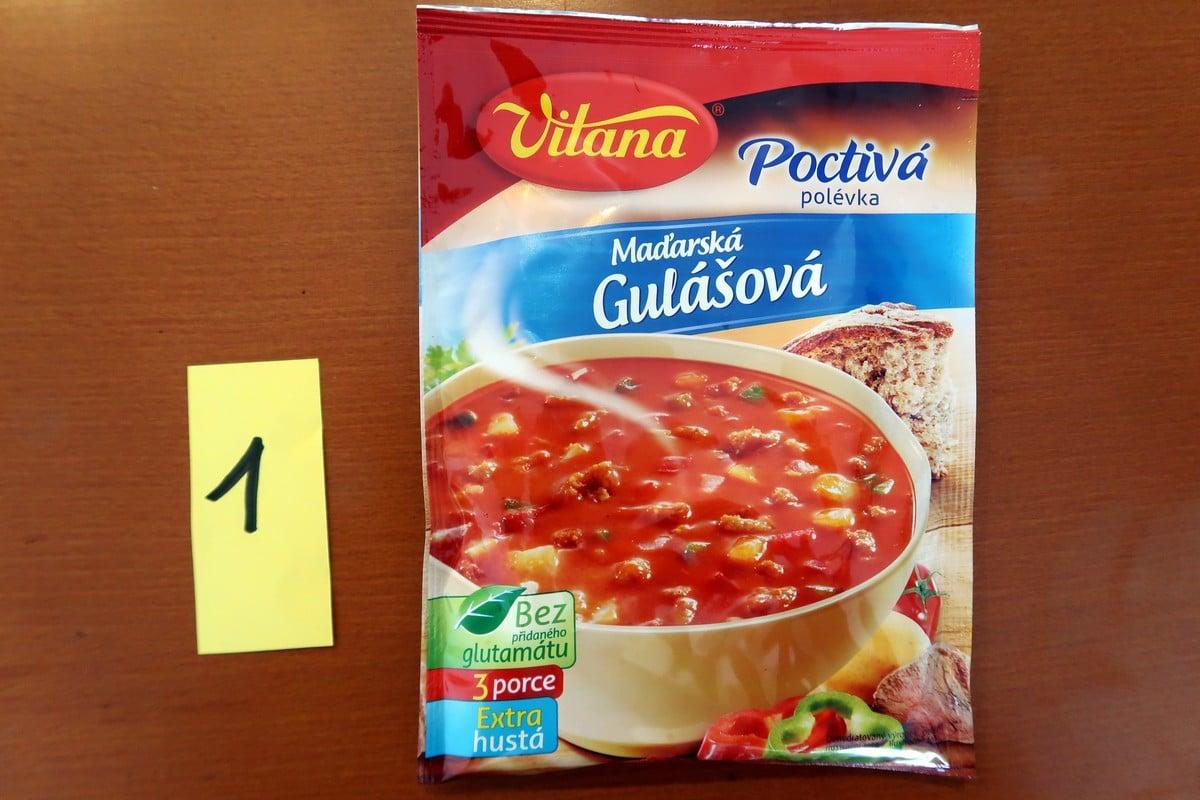 Gulášová polévka z pytlíku 7x jinak