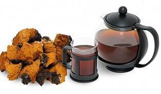 Čaj zhouby čaga vaří vRusku iunás